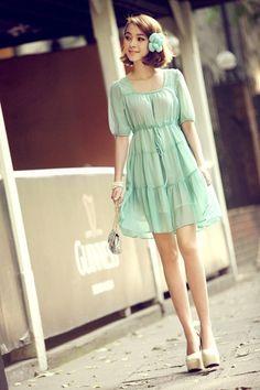 Chicas Glamorosas - Fashion Vestidos Juvenil Coreano Importa - S ...