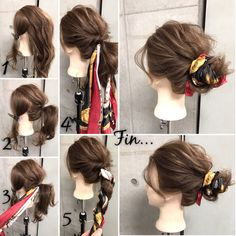 A nice scarf with a stylish scarf for a long time. – hair – # for A nice scarf with a stylish scarf for a long time. – hair – # for Work Hairstyles, Headband Hairstyles, Pretty Hairstyles, Braided Hairstyles, Men's Hairstyle, Wedding Hairstyles, Medium Hair Styles, Curly Hair Styles, Hair Arrange