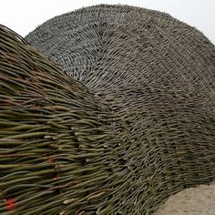 Willow structure house garden art architecture natural Sandworm by *peter C*, via Flickr
