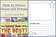 Boy Mama Teacher Mama | Back to School Hopes and Dreams