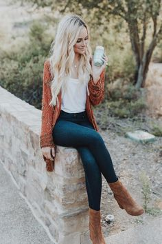 Amanda Stanton wearing Free People Cecile Ankle Booties, House of Harlow 1960 x Revolve Amber Embellished Coat, James Jeans Twiggy Slip on Leggings in Blue Moon and Samantha Wills Orchids Silk Earrings