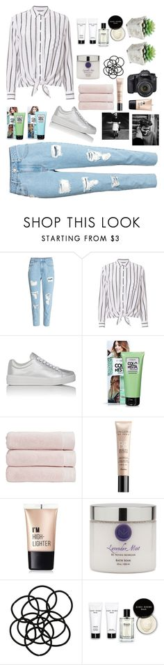 """""""i don't f***ing care"""" by maria143sara on Polyvore featuring Equipment, Prada Sport, Christy, Guerlain, Charlotte Russe, Niven Morgan, Eos, Monki and Bobbi Brown Cosmetics"""