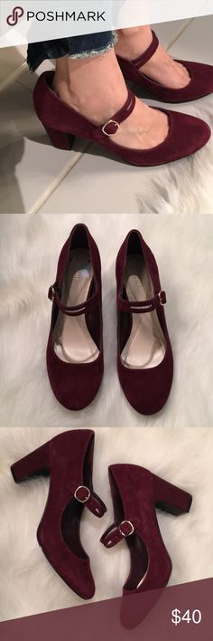 Alfani heels Gorgeous soft suede heels!! Smoke free and pet free home. Great condition. Very small mark on side as seen but not noticeable. Alfani Shoes Heels