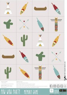 Cut apart and make pictures into bunting Indian Party Themes, Indian Birthday Parties, Indian Theme, First Birthday Parties, First Birthdays, Cowboy Party, Cowboy Birthday, Pow Wow Party, Ideas Para Fiestas