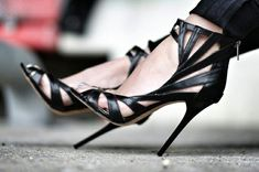 Sexy Black Heelshot