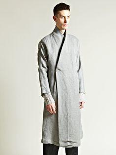 Damir doma Mens Kimono Sleeve Coat in Gray for Men (grey) | Lyst