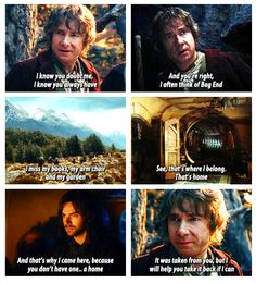 The Hobbit: An Unexpected Journey; Bilbo is Adorable
