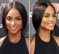 Ciara proved that sometimes less is more at the 2015 ESPY Awards when she walked the red carpet with a soft makeup look and classic hairstyle. The singer has never looked better, and copying her hair is easy.