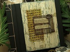 To Love, To Lose - Journal, Altered Alchemy on Etsy
