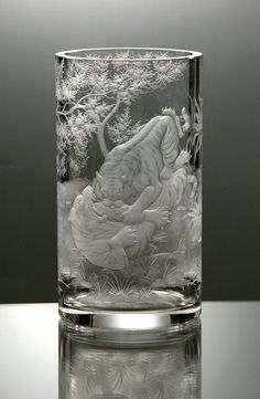 Glass engraving AIDA