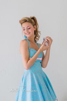 Atelier Belle Couture | 50er Jahre Petticoat Kleid rosa Pastell