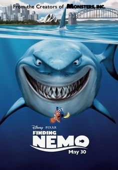 Purchase Finding Nemo the Movie Poster from this Comedy, Kids/Family and Animation Walt Disney/Pixar film. Film Disney, Disney Movies, See Movie, Movie Tv, Lost Movie, Movie Blog, Movies To Watch, Good Movies, Greatest Movies