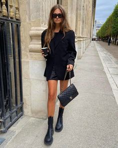 Fall Fashion Outfits, Mode Outfits, Winter Fashion, Casual Outfits, Womens Fashion, Winter Boots Outfits, Fall Boots, Looks Street Style, Looks Style