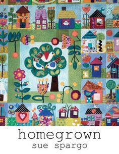 House Quilt Patterns, House Quilt Block, Patchwork Patterns, Patchwork Quilting, Block Patterns, Quilt Blocks, Sewing Patterns, Quilting Projects, Quilting Designs