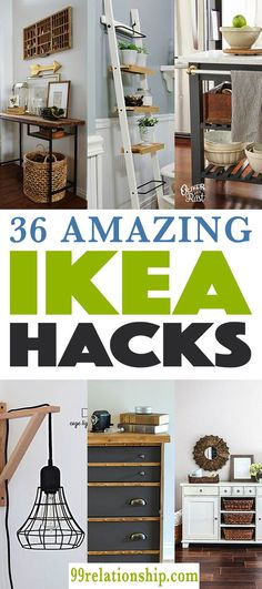 35+ Amazing Ikea Hacks to Decorate on a Budget 35+ Amazing Ikea Hacks to Decorate on a Budget DIY Storage Cabinet idea This amazing hack is the best choice for all your storage needs, whether you want to store some kitchen utensils or your basic towels and linen, this is budget friendly and easy. #ikea #amazing #diy #hacks #home #love #lifestyle #best #easy