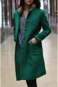 Adorable coat by STELLA FOREST is available from next week Stella Forest, Pret A Porter Feminin, Coat, Jackets, Fashion, Fall Winter, Mantle, Down Jackets, Moda