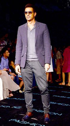 Arjun Rampal at Lakme Fashion Week Winter/Festive 2015. #Bollywood #LFW2015 #Fashion #Style #Handsome
