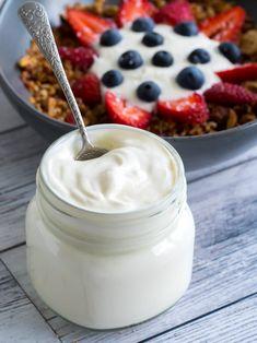 Keto Yogurt - An Easy Smooth Creamy Low Carb Yogurt For Breakfast