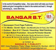 Bangar B.T. Publicity