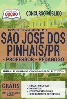 Apostila Concurso Prefeitura De Sao Jose Dos Pinhais 2019