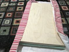 How to build a simple, scrap wood upholstered footstool Upholstered Footstool, Wood Putty, Pink Toes, Reupholster Furniture, Quilt Batting, My Sewing Room, Wood Screws, Diy For Girls, Easy Projects