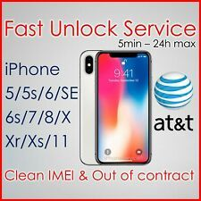 Premium At T Att Factory Unlock Service Code For Iphone 11 Xs Xr X 8 7 6s 6 5s 5 Iphone Unlock Code Iphone Unlock Iphone