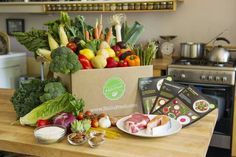 Michaelson and her husband, Phil, pay $59.94 a week to have six uncooked meals sent to their home every week. Blue Apron's kits are filled w...