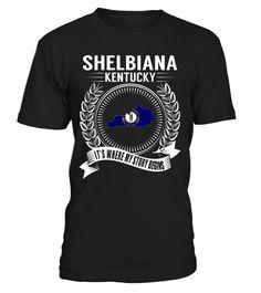 Shelbiana, Kentucky Its Where My Story Begins T-Shirt #Shelbiana