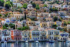 Symi, Griekenland. Been there, done that! (zeiltocht Kos '09)