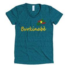 Burkinabè Women's short sleeve soft t-shirt
