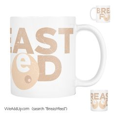 Okay how much do you love our new mug??! Get yours at WeAddUp.com!  #breastfeed  #breastfeeding  #breastisbest  #lalecheleague  #mug  #lalecheleagueusa  #freethenipple