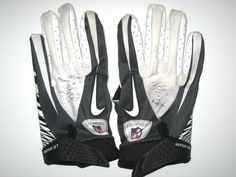 93eb2e30f76 Kyle Bosworth Jacksonville Jaguars Game Worn   Signed Nike Gloves (Worn Vs  Carolina Panthers