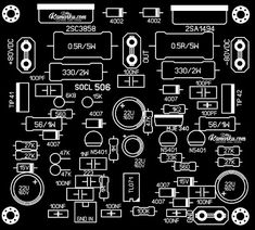 Power Amplifier PCB Layout this Super OCL amplifier, even from the previous generation - before this SOCL power amplifier has been tested to be very reliable for use as a field sound system or also power amplifier that is intended for indoor, Electronic Circuit Design, Battery Charger Circuit, Circuit Board Design, Diy Amplifier, Subwoofer Box Design, Hobby Electronics, Audio Design, Susa, Circuit Diagram
