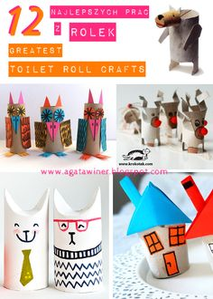 12 greatest toilet roll crafts