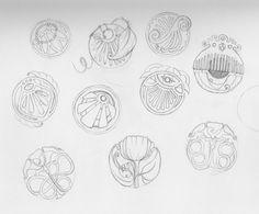 art nouveau designs | Art Nouveau Patterns // Sketchbook – Alexandra Doffing