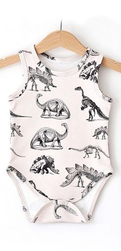 i die for this dino baby onesie ♥