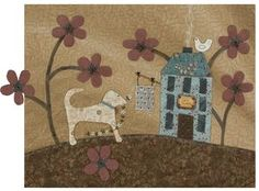 Daily happenings at Lynette Anderson Designs, showcasing new patterns as they become available. Embroidery Ideas, Needle And Thread, Quilt Blocks, Flags, Stitches, Mixed Media, Art Pieces, Quilting, Kids Rugs