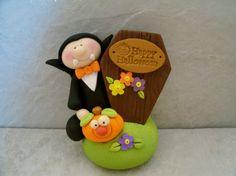 Dracula - Coffin - Jack O' Lantern - Figurine