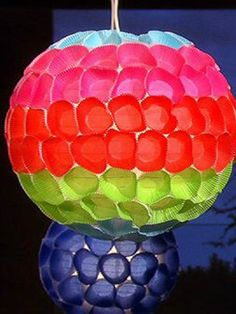Celebrate Cinco de Mayo with Clinton Kelly's cupcake liner lanterns!
