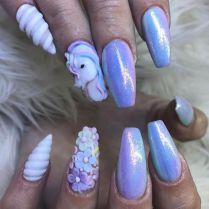 10 Unicorn Nail Art Ideas that are Truly Magical