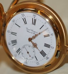 Girard-Perregaux Vintage Pocket Watches Hands-On Hands-On