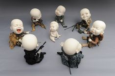 """Security Summit"" porcelain by Johnson Tsang (Hong Kong) https://johnsontsang.wordpress.com/"