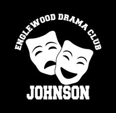 Drama Club vinyl decal personalized with Drama team and name. Great for car or truck windows, laptops, lockers, mirrors, and more! Can be applied on any SMOOTH surface. Vinyl colors come in White, Soft Pink, Pink, Yellow, Orange, Mint, Light Blue or Blue.#dramaclub #drama #theatre #theater #acting #masks #club #etsy #smallbusiness #decals #stickers