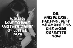 Free font: Cigarettes & Coffee on Behance