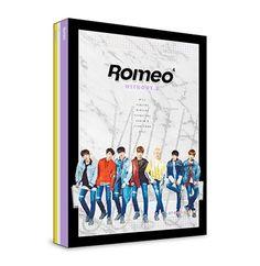 "ROMEO 4th Mini Album ""WITHOUT U"" Night Ver. K_POP CD+Photobook+Postcard+Poster #Pop"