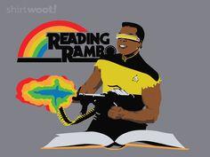 Reading Rambo for $15 @Shirley Kirk Woot