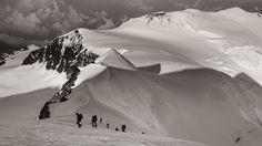 Climbing Lyskamm West by Artur Dudka on 500px