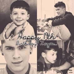 Its late i know i just could'nt log in to pinterest on his birthday. But Happy Birthday Zayn! Time flies <3