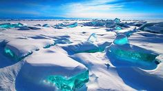 Lake Baikal,  located in the southern Russian region of Siberia. It is one of the world's largest and oldest freshwater lakes. (Alex El Barto Trofimov)