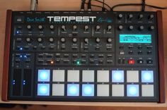 MATRIXSYNTH: DSI Dave Smith Tempest Analog Drum Machine Synthes...